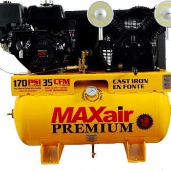 MaxAir 11 hp Honda Electric Start Air Compressor