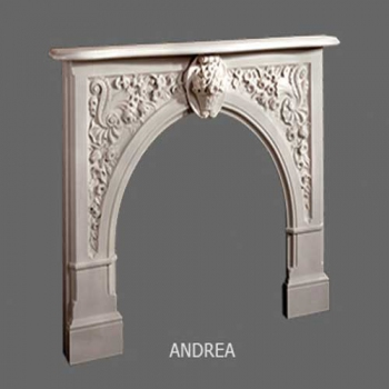Andrea English Marble Mantel