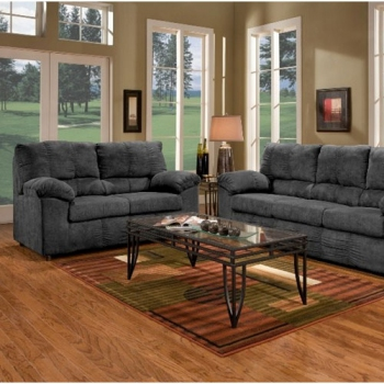 Living Room Set, Aruba Black