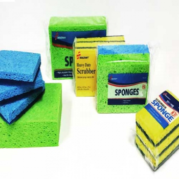 Cellulose Sponges, Green or Yellow
