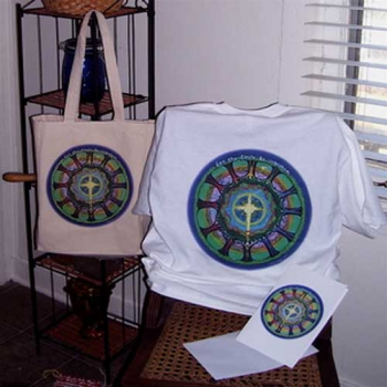 Circle Unbroken Bags and T-Shirts