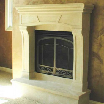 Cottage Stone Mantel