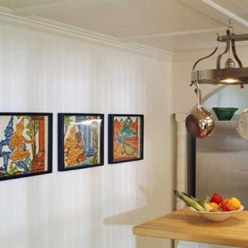 Cottage Style Beadboard Paneling