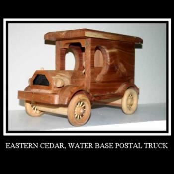 Postal Truck, Eastern Cedar