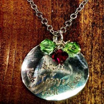Family Charm Necklace