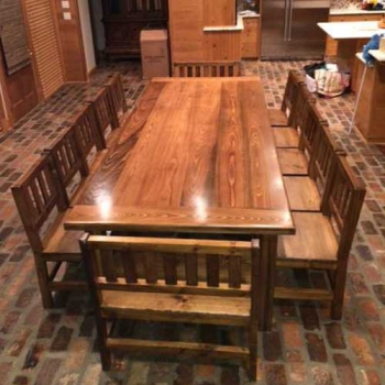 Farm Table, Custom Dining Room