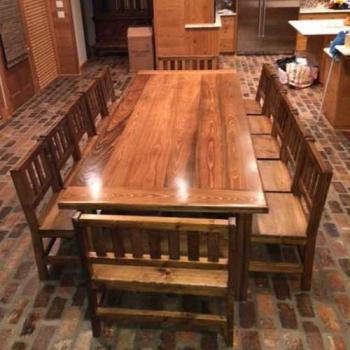 Farm Table, Custom Dining Room