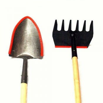 Fire Shovel and McLeod Rake Tool