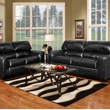 Living Room Set, Firenza Black