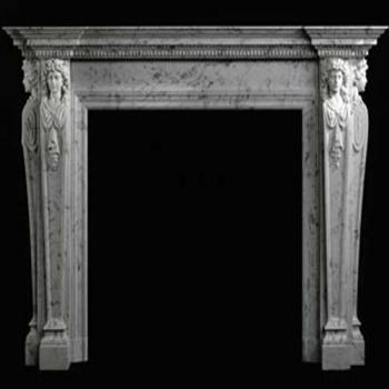 Greco Roman Carrara Mantel
