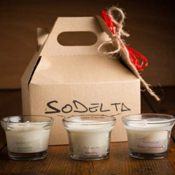 Holiday Gift Set, Soy Candles