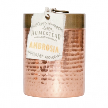 Ambrosia Homestead Hammered Canister