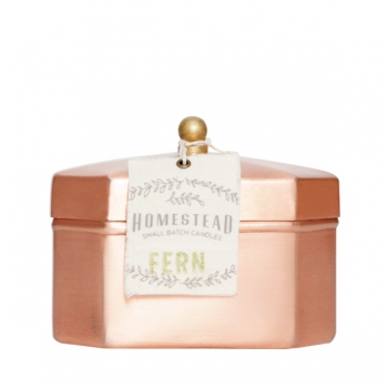 Fern Homestead Octagon Tea Tin