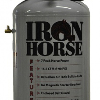 Iron Horse 7hp Upright Air Compressor