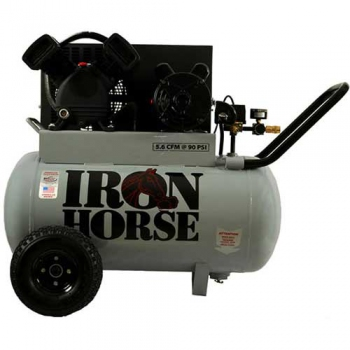 Iron Horse 5hp Horizontal Air Compressor