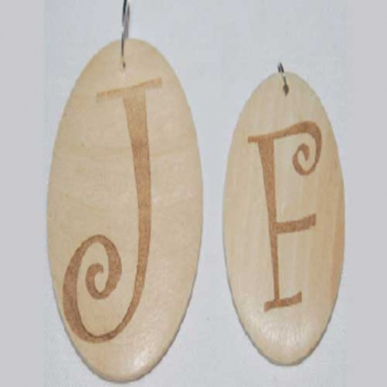 Natural Wood Pendant