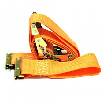 Ratchet Tie Down Strap, Orange
