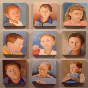 Portraits on Canvas, Acrylic or Oil
