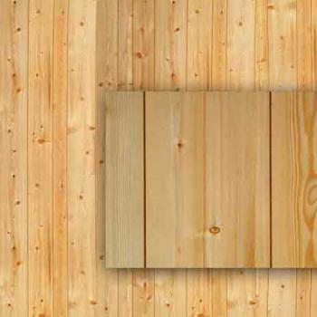 Rustic Pine Paneling