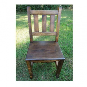 Slat Back Custom Chair