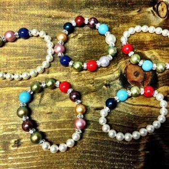 Swarovski Pearl Birthstone Bracelet