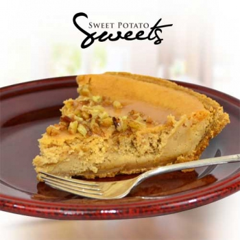 Sweet Potato Pecan Cheescake