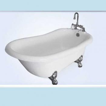 Imperial Victorian Acrylic Clawfoot Bathtub