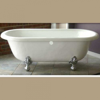 Marquis Victorian Acrylic Clawfoot Bathtub