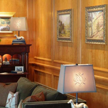 Traditional Cherry Wood Wall Paneling