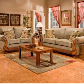 Living Room Set, Trigger Honey