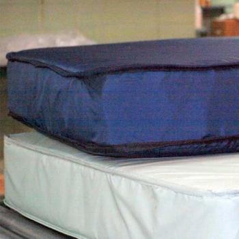 Twin Mattress, Blue, 36 X 75