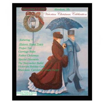 Victorian Christmas Illustration