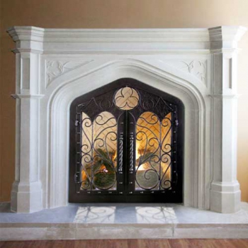 Westminister Stone Mantel and Surround