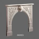 Andrea English Marble Mantel