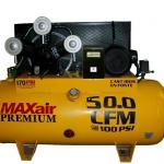 MaxAir 10hp Horizontal Single Phase Air Compressor