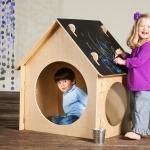 Chalkboard Playhouse, Portable Indoor
