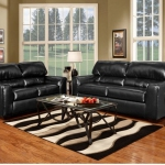 Living Room Set, Firenza Black