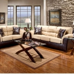 Living Room Set, Laredo Mocha