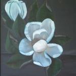 Magnolia Oil Painting