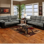 Sofa and Loveseat, Marshall Steel Reclining