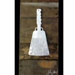Mississippi Cowbell Metal & Reclaimed Wood Art
