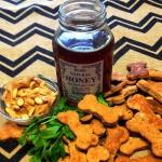 Peanut Butter Honey Dog Treats
