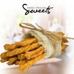 Cheese Straws, Sweet Potato