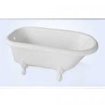 Regent Victorian Acrylic Clawfoot Bathtub
