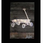Wagon Metal & Reclaimed Wood Art